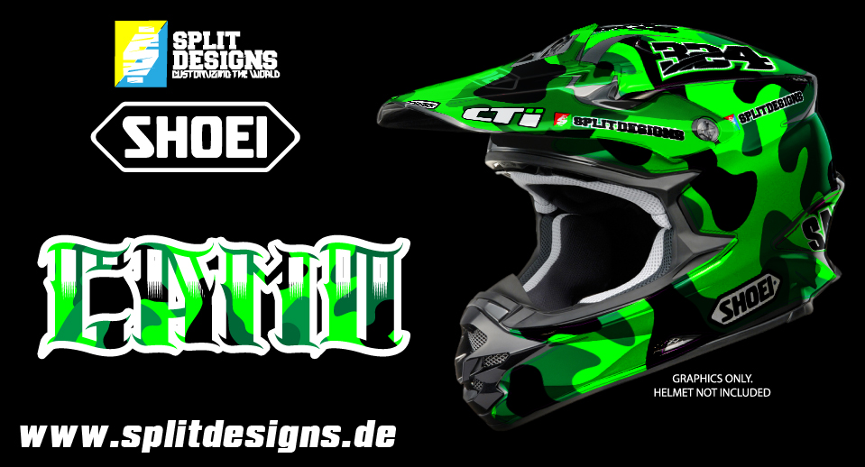 Helm Sticker Wrap