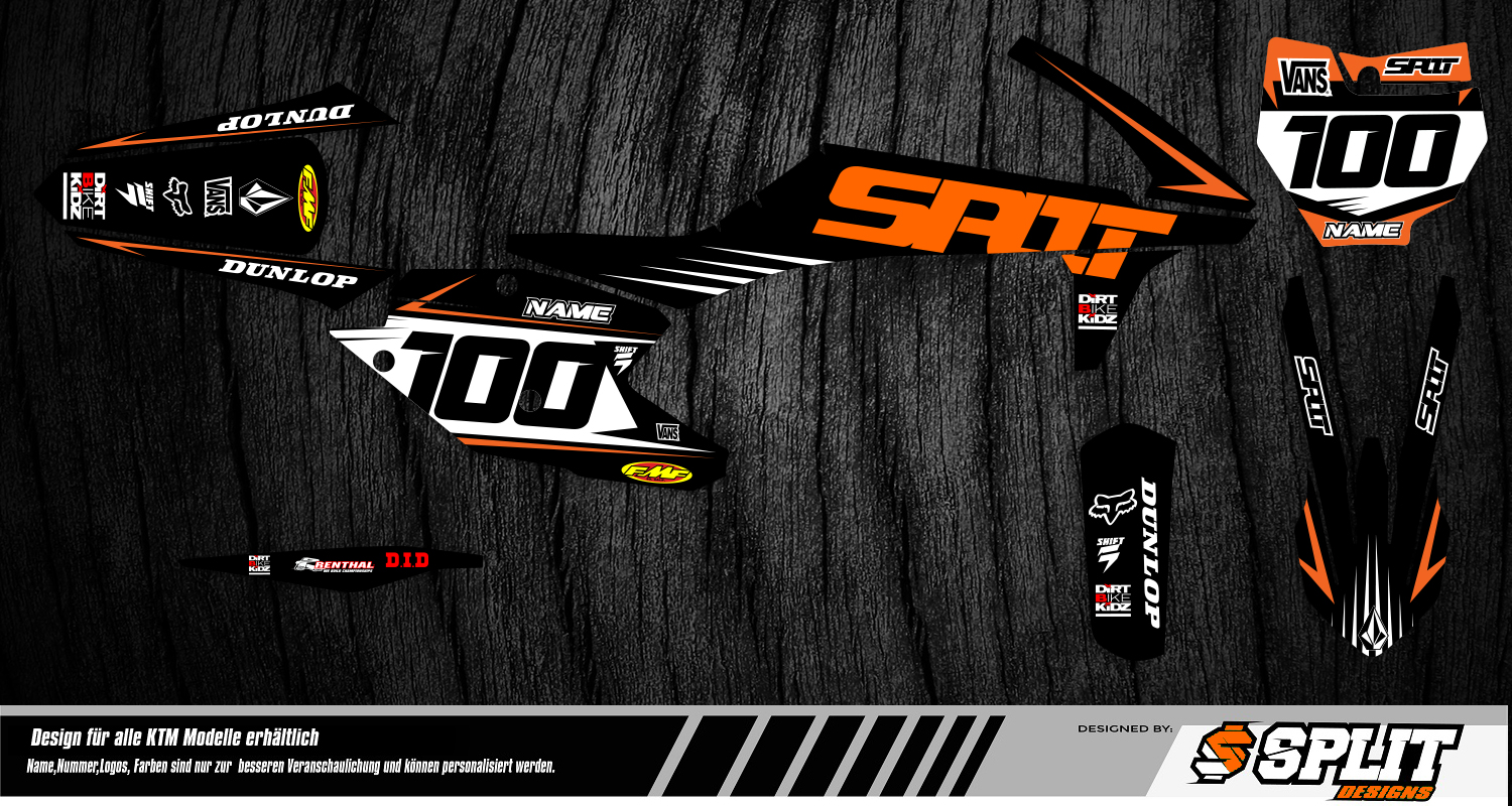 KTM Bike Graphics