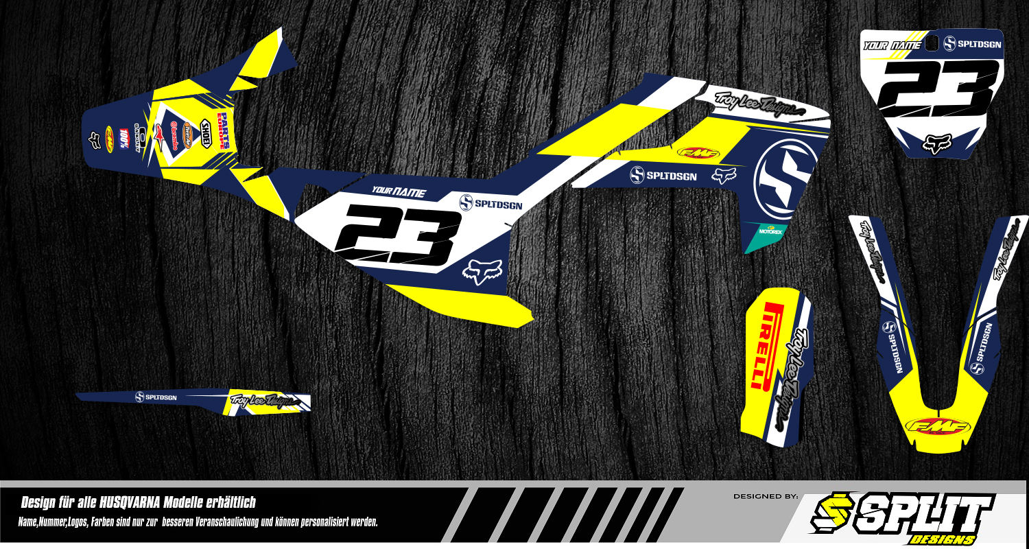 Husqvarna Bike Graphics