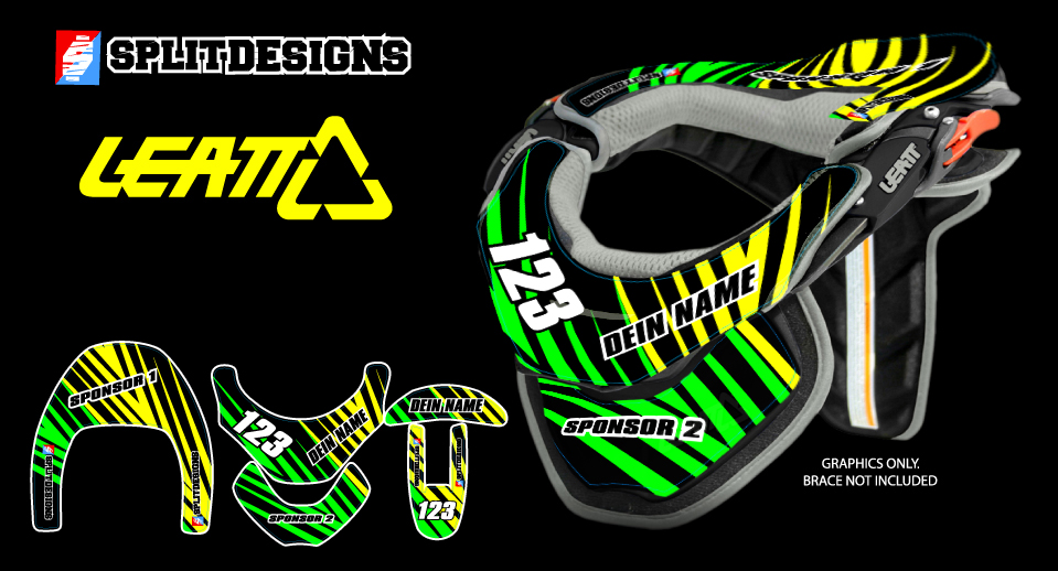 Neckbrace Sticker Kit