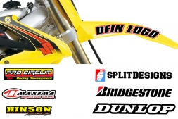 Front Fender Sticker Kit