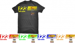 Splitdesigns Custom Fahrer T-Shirt Scratch