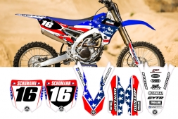 Yamaha USA Edition Splitdesigns Graphics kit