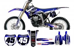 Yamaha TRANS Edition Splitdesigns Graphics kit