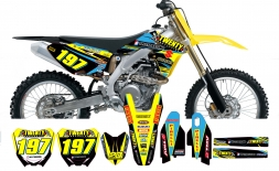 Suzuki Graphics-20 Suspension 2014 Blue/Yellow