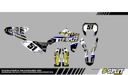 Scherco 4054 Splitdesigns Bike Graphics