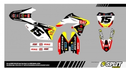 Suzuki JS7 2015 Splitdesigns Bike Graphics