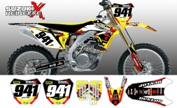 Suzuki TEAM REINECKE 2015 Splitdesigns Bike Graphics