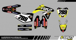 Suzuki NicoKlein Splitdesigns Bike Graphics