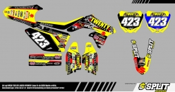 Suzuki LarissaPapenmier 2015 Splitdesigns Bike Graphics