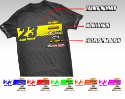 Splitdesigns Custom Fahrer T-Shirt