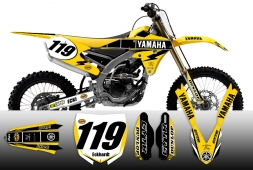 Yamaha Retro Edition Splitdesigns Graphics kit