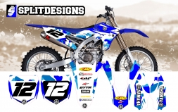 Yamaha CAMO Edition Splitdesigns Graphics kit