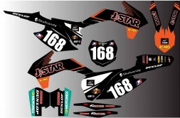 kTM  Bike Graphics - JSTAR