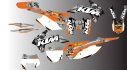 kTM  Bike Graphics - TATTOO