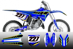 Yamaha - Tron Neon - Splitdesigns Graphics kit