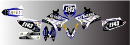 Yamaha - MOUNTAIN - Splitdesigns Graphics kit