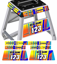 Matrix M2  MX Bike Stand Graphics-Flash