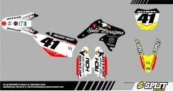 Suzuki SOARING Splitdesigns Bike Graphics