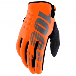 100% HANDSCHUHE BRISKER ORANGE