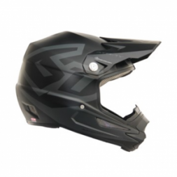 6D ATR-1Y Helmet Macro Matte Black - YOUTH