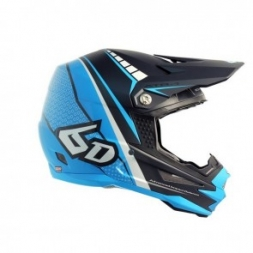 6D Helmet ATR-1 Edge Neon Blue/Grey