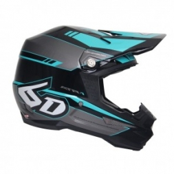 6D HELMET ATR-1 FORCE TEAL