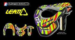 Neckbrace Sticker Kit- Forzaken
