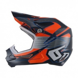 6D HELMET ATR-1Y AVENGER NEON ORANGE - YOUTH