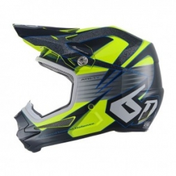 6D HELMET ATR-1Y AVENGER NEON YELLOW - YOUTH