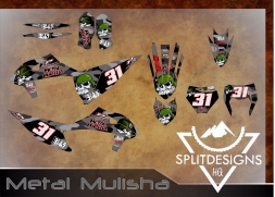 kTM Metal Mulisha Bike Graphics