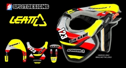 Neckbrace Sticker Kit- Pro