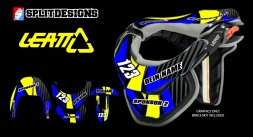 Neckbrace Sticker Kit- Hanny
