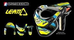 Neckbrace Sticker Kit- Scratch
