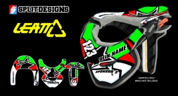 Neckbrace Sticker Kit- Star